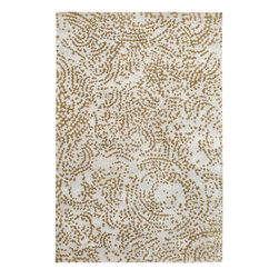 Surya - Surya Shibui SH-7414 (Ivory Gray Fern) 4' x 6' Rug - Julie Cohn is an artist, designer and the developer of products and designs for the corporate and home interiors markets. She is a founding partner in the multidisciplinary product firm, Two Women Boxing and surface design firm Julie Cohn Design. Formed in 1998, Julie Cohn Design focused on surface design for china and glass, carpets, rugs, wall covering, and other home accessories. Hospitality and design firms have enlisted her talents for large hotel projects for Ritz, Hyatt, Hilton and others. This Tibetan weave collection, Shibui, is rich, elegant, and urbane. Masterfully mixing wool with silk, the details and finesse are exquisite.
