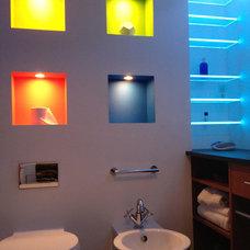 Modern Bathroom Vanity Lighting by John Whipple - By Any Design ltd.