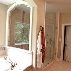 Modern Shower Doors by Showroom Partners