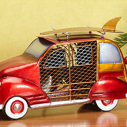 Deco Breeze - Deco Breeze DBF0272 Woody Car Figurine Fan - Let this decorative car fan brighten your day while it keeps you cool. With its decorative appeal,this figurine fan can easily become a permanent part of any desk,vanity,bedroom,kitchen,or bathroom decor.