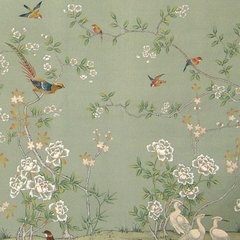 asian wallpaper by Paul Montgomery Studio
