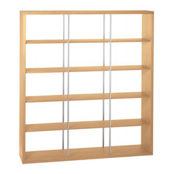 Index Three Bookcase - This bookcase is all about minimalism, and would be perfect in any home, whether placed against the wall as a bookcase or used to divide a space. My favorite part: this could add some really needed shelf space to a tiny apartment.