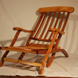 Chairs and Benches - Reproduction of the Titanic Deck Chair