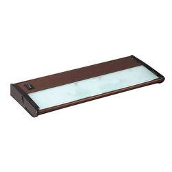 "Maxim - Maxim 87831 CounterMax MX-X120 13"" 2 Light Under Cabinet Light Bar - Product Features:"