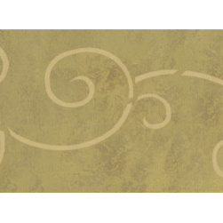 Stencil Ease - Spiral Scroll Border Stencil - Spiral Scroll Home Decorating Stencil Contains: 1 - 6 x 18 stencil sheet Actual size: 12.25 in. wide x 5.1 in. high This design is the companion to SWP0046 This design was painted using the following Spill Proof stencil paint colors used: MSP0102 Metallic GoldComplete kit comes with stencil paint 1 THW0006 stencil brush and 1 ASA0002 can of Repositionable Stencil Adhesive Spray .