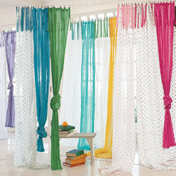 Dottie Sheer - Perfectly priced and designed to match any of our sheers, these 100% cotton drapes make a great update for your space.