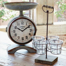 Farmhouse Clocks by A Cottage in the City