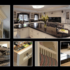 Traditional Kitchen Cabinetry traditional henry lewis bespoke furnature 01612306666