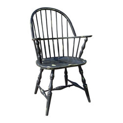 Fable Porch Furniture - Winthrop Dining Chair, Ivory-Classic - American made from solid maple.