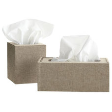 Contemporary Tissue Box Holders by Mark and Graham