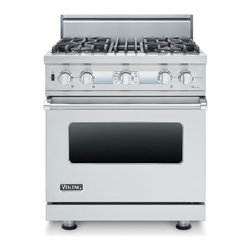 "Viking 30"" Pro-style Dual-fuel Range, Stainless Steel Natural Gas 