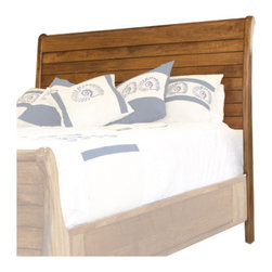 "Artisan Home Furniture - Provence Sleigh Headboard - The Provence collection featuring exotic mango wood is part of the sustainable wood program which features wood from orchards and fruit tree plantations. Environmental impact is reduced by taking advantage of already existing fruit plantation and turning these trees into beautiful furniture pieces after their fruit production life-cycle ends. This way they substitute the use of rainforest timber and help conserve eco-systems at the same time. Mango tree's unique wood grain and durability give this collection its natural beauty and character. Mortise and tennon joints are used throughout the case design for strength and durability and each drawer features English dovetail joinery for years of worry free use. Features: -Solid mango wood construction.-Provence collection.-Gloss Finish: Yes.-Finish: Honey / distressed lacquer.-Hardware Material: Antique forged metal.-Non Toxic: Yes.-Scratch Resistant: No.-Joinery Type: Mortise and tenon.-Adjustable Height: No.-Lighting Included: No.-Wall Mounted: No.-Reversible: No.-Media Outlet Hole: No.-Built In Outlets: No.-Finished Back: Yes.-Distressed: Yes.-Hidden Storage: No.-Freestanding: No.-Frame Required: Yes.-Frame Included: No.-Drill Holes for Frame: Yes.-Swatch Available: No.-Product Care: Wipe clean with a dry cloth.-Commercial Use: Yes.-Recycled Content: No.Specifications: -FSC Certified: No.-EPP Compliant: No.-CPSIA or CPSC Compliant: No.-CARB Compliant: Yes.-JPMA Certified: No.-ASTM Certified: No.-ISTA 3A Certified: No.-PEFC Certified: No.-General Conformity Certificate: No.-Green Guard Certified: No.Dimensions: -Overall Height - Top to Bottom (Size: California King, King, Queen): 54.5"".-Overall Width - Side to Side (Size: Queen): 63.5"".-Overall Width - Side to Side (Size: King): 79.25"".-Overall Width - Side to Side (Size: California King): 75.25"".-Overall Depth - Front to Back (Size: California King, King, Queen): 6.75"".-Overall Product Weight (Size: Queen): 71 lbs.-Overall Product Weight (Size: King): 84 lbs.-Overall Product Weight (Size: California King): 84 lbs.-Leg Height (Size: Queen): 23"".-Leg Height (Size: King): 23"".-Leg Height (Size: California King): 23"".-Leg Width - Side to Side (Size: Queen): 63.5"".-Leg Width - Side to Side (Size: King): 79"".-Leg Width - Side to Side (Size: California King): 75.25"".-Leg Depth - Front to Back (Size: Queen): 6.75"".-Leg Depth - Front to Back (Size: King): 6.75"".-Leg Depth - Front to Back (Size: California King): 6.75"".-Top of Headboard to Bed Frame (Size: Queen): 40.25"".-Top of Headboard to Bed Frame (Size: King): 40.25"".-Top of Headboard to Bed Frame (Size: California King): 40.25"".-Bottom of Headboard to Floor (Size: Queen): 26.5"".-Bottom of Headboard to Floor (Size: King): 26.5"".-Bottom of Headboard to Floor (Size: California King): 26.5"".Assembly: -Assembly Required: No.-Additional Parts Required: No.Warranty: -1 Year."