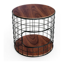 Gus - Wireframe End Table - Wireframe End Table by Gus Modern