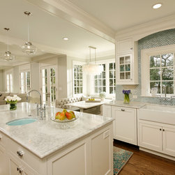 Project designed by Erin Hoopes at Virginia Kitchens -