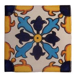 Casa Daya 12 Hand Painted Made To Order Talavera Tile