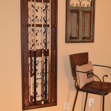 Traditional Basement by Trish Albano Interiors