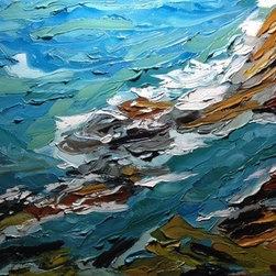 Seascape 3 (Original) by Gabriela Horikawa - Seascape 3