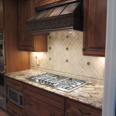 Traditional Kitchen Hoods And Vents by Copper Kitchen Specialists