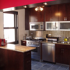Contemporary Kitchen by Courthouse Contractors / Kitchens & Baths