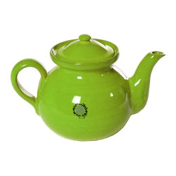 Mamma Ro Coffee and Tea Server, Apple - Handcrafted in Italy by Mamma Ro, this bold and vibrant green teapot would awaken all of your senses each morning.
