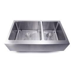 20mm Radius Stainless Steel Kitchen Sinks Collection -