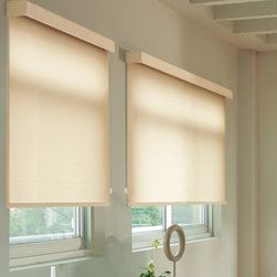 Levolor - Levolor Roller Shades: Designer Textures Light Filtering - Levolor Roller Shades offer contemporary yet classic style and easy operation.  The Designer Textures light filtering fabric collection features designer colors with a soft texture feel.