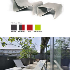 Contemporary Outdoor Chaise Lounges by NOVA68