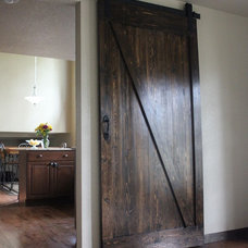 Rustic Interior Doors by Tri-Lakes Artifex LLC