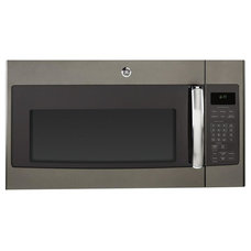 GE 1.7 cu. ft. Over the Range Microwave in Slate with Sensor Cooking-JVM6175EFES