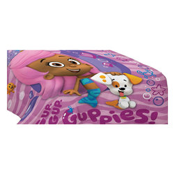 Franco Manufacturing Company Inc - Bubble Guppies Fun Twin-Single Bed Comforter - Features: