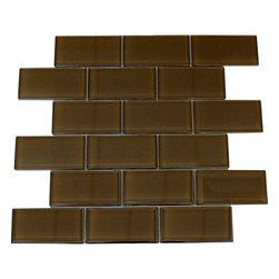 glass tile brown 2x4 carton carton of brown 2x4 subway glass tile