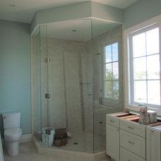 Showerheads And Body Sprays by Hancock Custom Homes