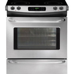 "Frigidaire 30"" Slide-In Electric Range - Ready-Select® Controls - easily select options or control cooking temperature with our easy-to-use controls"