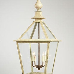 Chelsea House - New Chelsea House Lantern Green Tole Metal - Product Details