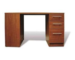 Jesper Office Furniture - 100 Series Cherry Student Desk - Features: