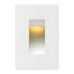 Hinkley Lighting - Hinkley Lighting 58504SW Luna 1 Light Deck/Step Lighting in Satin White - This 1 light Step from the Luna collection by Hinkley Lighting will enhance your home with a perfect mix of form and function. The features include a Satin White finish applied by experts. This item qualifies for free shipping!