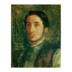 Self Portrait as a Young Man Canvas Art by Edgar Degas - About Trademark Global Inc.Located in Lorain, Ohio, Trademark Global offers a vast selection of items for your home and lifestyle. Whether you need automotive products, collectibles, electronics, general merchandise, home and garden items, home decor, house wares, outdoor supplies, sporting goods, tools, or toys, Trademark Global has it at a price you can afford. Decor items and so much more are the hallmark of this company.