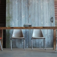eclectic dining tables by UrbanWood Goods