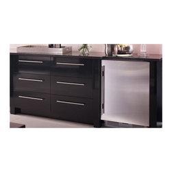"Sub-Zero 24"" Built-in Undercounter Refrigerator, Custom Panel Ice Maker   UC24CI - FACTORY INSTALLED ICE MAKER"