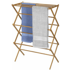 traditional dryer racks by Organize
