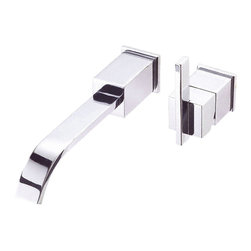 "Danze - Danze D216044 Chrome Wall Mount Faucet One Handle - Danze D216044 ChromeSingle Handle Wall Mount Lavatory Faucet is part of the Sirius collection.  D216044 2 Hole Wall Mount Lavatory Faucet has a 10"" long spout, with metal touch down drain assembly included.  D216044 meets all requirements of ADA, California and Vermont compliant."