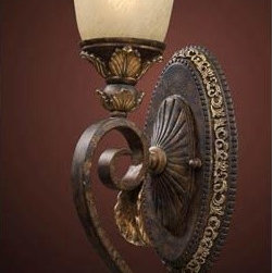 Elk Lighting - Trump Home Regency Burnt Bronze One-Light Wall Sconce - Regency Burnt Bronze One-Light Wall Sconce Elk Lighting - 2150/1
