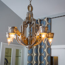 Eclectic Chandeliers by Allison Jaffe Interior Design LLC