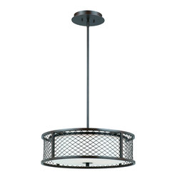 Triarch International - Triarch International 31572-20 Chainlink Pendant - Triarch International 31572-20 Chainlink Pendant