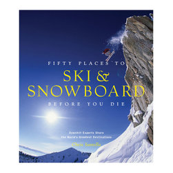50 Places to Ski and Snowboard Before You Die - Perfect for the winter sports adventurer in your life, this guidebook takes readers to some of the best destinations to ski and snowboard in the world. From Alaska to Chile to Japan, the book includes the history behind these spots and interviews with leading experts. Whether you're a novice or seasoned expert, this book has something for everyone.