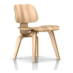 Herman Miller Eames Plywood Dining Chair, Wood Legs