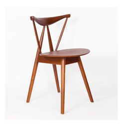 Central Park West Mid Century Ash Dining, - Central Park West Mid Century Ash Dining Chair