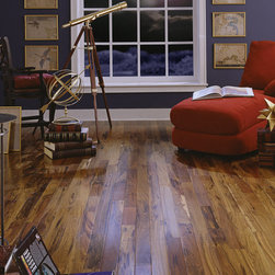 Brazilian Hickory Engineered Floor - This a Brazilian Hickory floor and is a great example of an exotic species used effectively as an engineered wood floor.