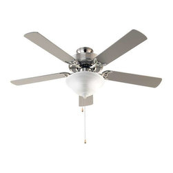 Trans Globe Lighting - Trans Globe Lighting F-1000 BN Ceiling Fan In Brushed Nickel - Part Number: F-1000 BN