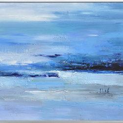 Bassett Mirror - Bassett Mirror Calmness of Blue 7300-080EC - Bassett Mirror Calmness of Blue 7300-080EC